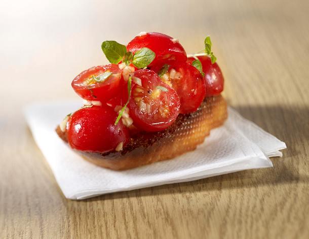 Bruschetta 4x anders: Tomate-Oregano Rezept
