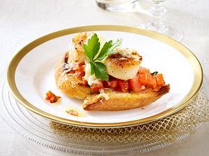 Bruschetta mit Tomaten Rezept