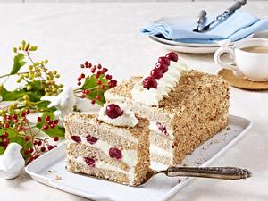 Buchweizen-Kirsch-Torte Rezept