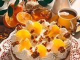 Buchweizen-Orangen-Joghurt-Torte Rezept
