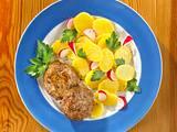 Buletten mit Kartoffelsalat Rezept