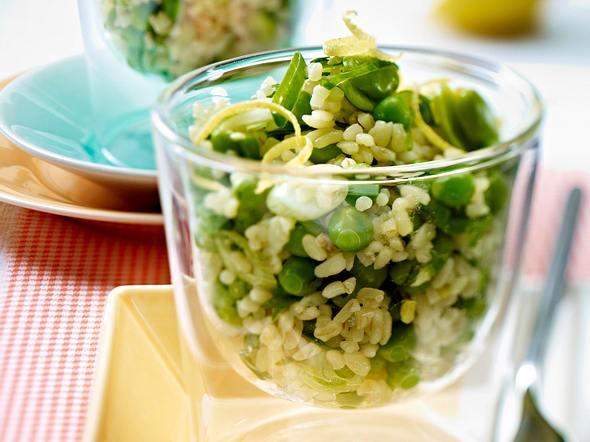 Bulgur-Bohnen-Salat Rezept