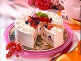 Bunte Beeren-Schmand-Torte Rezept