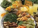 Bunte Gemüseplatte mit Aioli Rezept