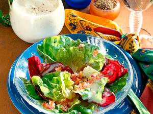 Bunte Salatvorspeise Rezept