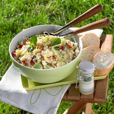 Bunter Couscous-Salat Rezept