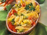 Bunter Gemüse-Auflauf mit Senf-Béchamel Rezept