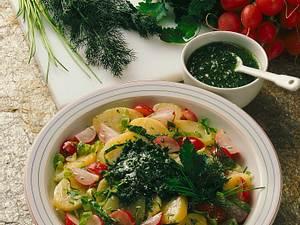 Bunter Kartoffelsalat Rezept