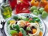 Bunter Tomatensalat Rezept