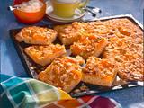 Butterkuchen mit Aprikosen und Mandeln Rezept