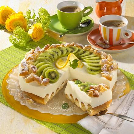 buttermilch kiwi torte rezept lecker. Black Bedroom Furniture Sets. Home Design Ideas
