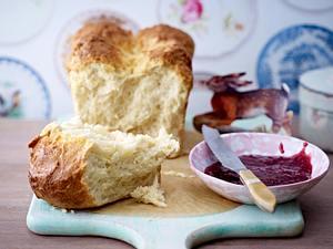 Buttriges Frühstücks-Brioche Rezept
