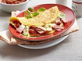 Calzone-Omelett Rezept