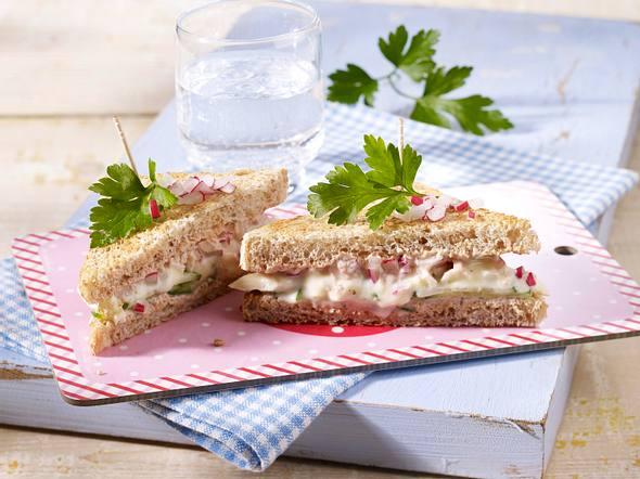 Camembert-Tramezzini (Sandwich) Rezept