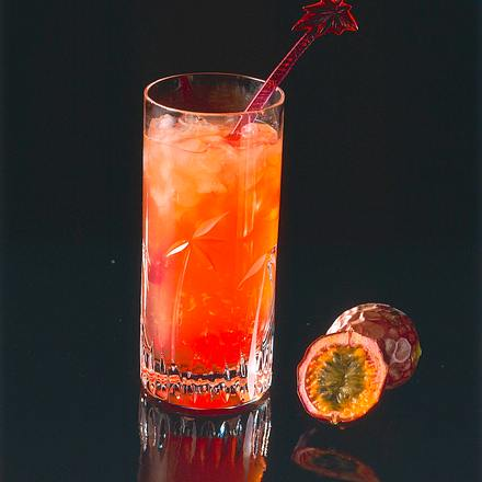 Campari-Maracuja-Drink Rezept