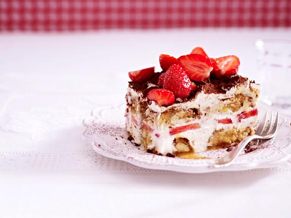 Cantuccini-Tiramisu mit Erdbeeren Rezept