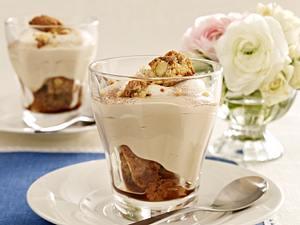 Cappuccino-Creme mit Sahnehaube Rezept