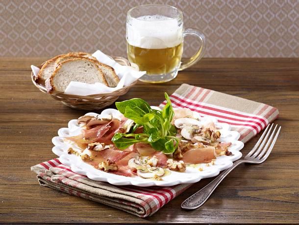 Carpaccio vom Südtiroler Speck Rezept