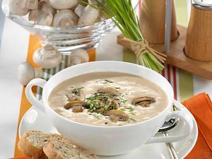 Champignon-Cremesuppe Rezept