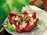 Champignon-Radicchio-Salat Rezept