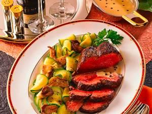 Chateaubriand mit Pfeffersoße Rezept