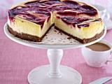 Cheesecake mit Himbeerpüree Rezept