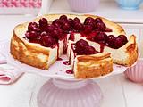 Cheesecake mit Kirschen Rezept
