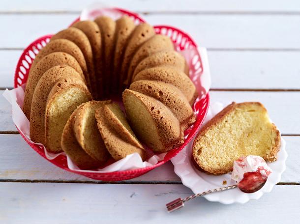Cheesecake-Napfkuchen Rezept