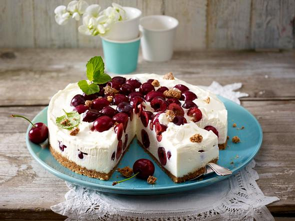 Cherry-Cheese-Cake Rezept