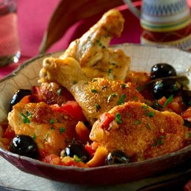 Chicken and Olive Stew Rezept