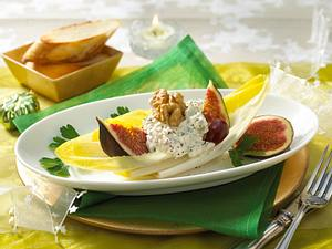 Chicorée- Käse-Schiffchen Rezept
