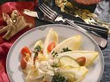 Chicorée-Salat mit Limetten-Crème fraîche Rezept
