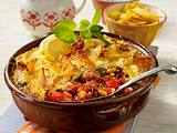 Chili con Carne-Auflauf mit Hackbällchen Rezept