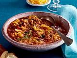 Chili-Con-Carne–Suppe Rezept