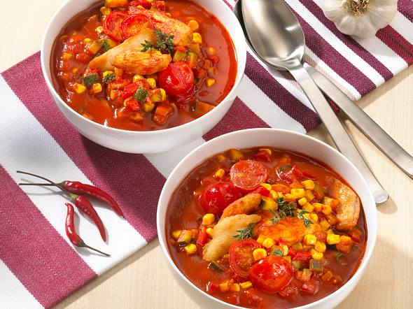Chili-con-Chicken-Eintopf Rezept