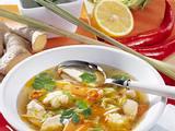 Chili-Gemüse-Suppe mit Hähnchen Rezept