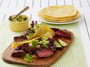 Chili-Rubbed Steak Tacos Rezept