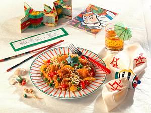 Chinapfanne mit Fischfilet Rezept