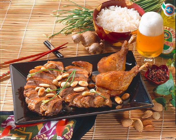 Chinesische Mandel-Ente Rezept