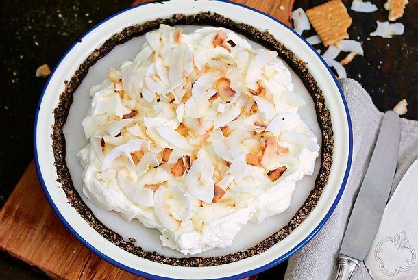 Chocolate Coconut Cream Pie Rezept
