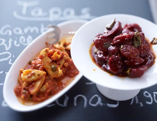Chorizo in Rotwein Rezept