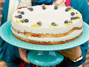 Christines Zitronenjoghurt-Torte Rezept