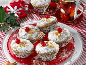 Christstollen-Muffins Rezept