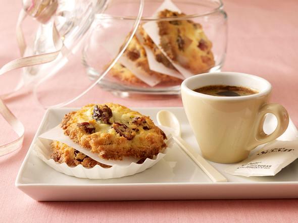 Coconut cranberry cookies Rezept