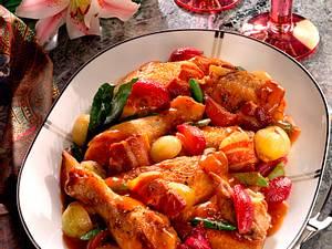 Coq au Vin mit gemischten Zwiebeln Rezept