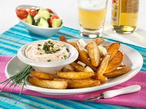 Country-Kartoffeln mit Schafskäse-Dip Rezept