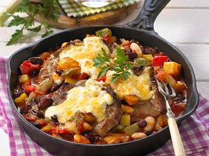Country-Pfeffersteak-Pfanne Rezept