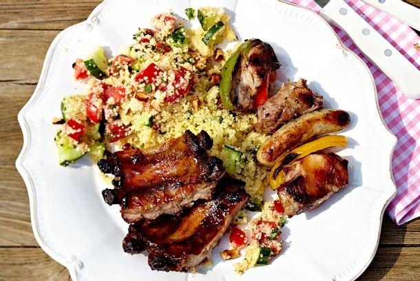 Couscous-Mandel-Salat Rezept