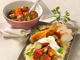 Couscous mit Gemüse & Hähnchen Rezept