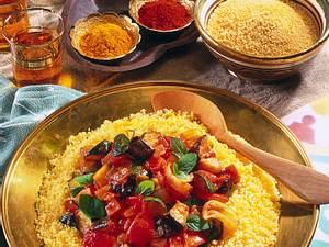 Couscous mit Gemüseragout Rezept